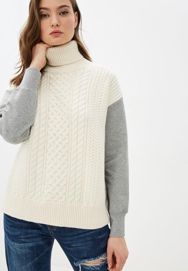 женский свитер french connection, белый