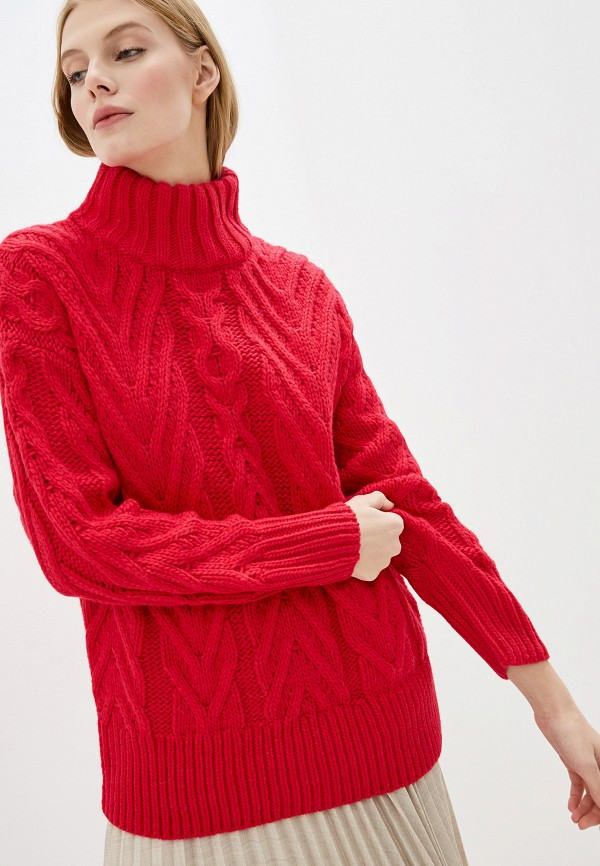 женский свитер french connection, розовый