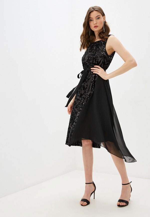 женское вечерние платье french connection, черное