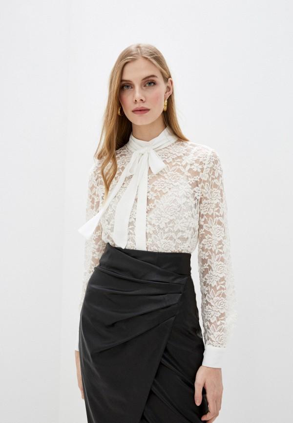 женская блузка с длинным рукавом french connection, белая
