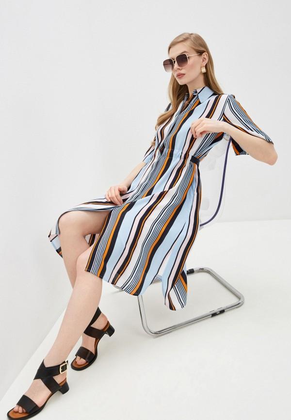 женское платье-рубашки french connection, разноцветное