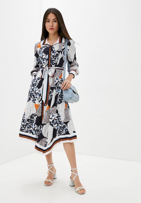 женское платье french connection, разноцветное