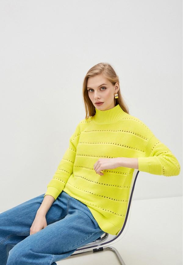 женский свитер french connection, желтый