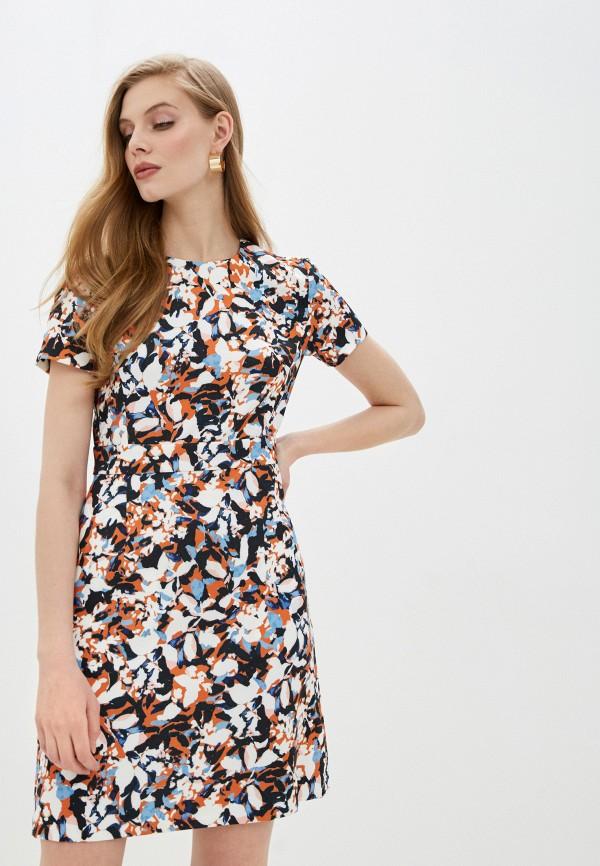 женское повседневные платье french connection, разноцветное