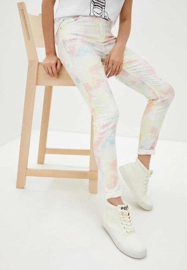 женские повседневные брюки french connection, разноцветные