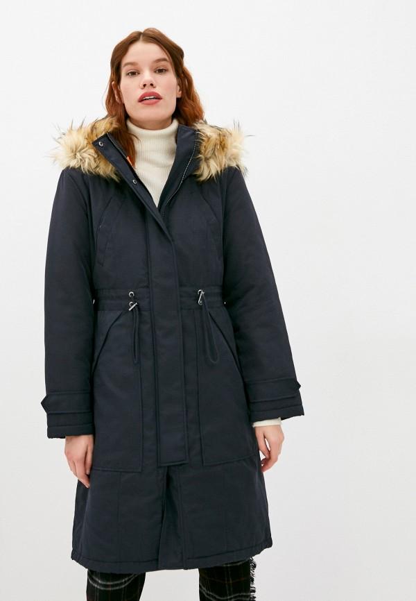 женская куртка french connection, черная