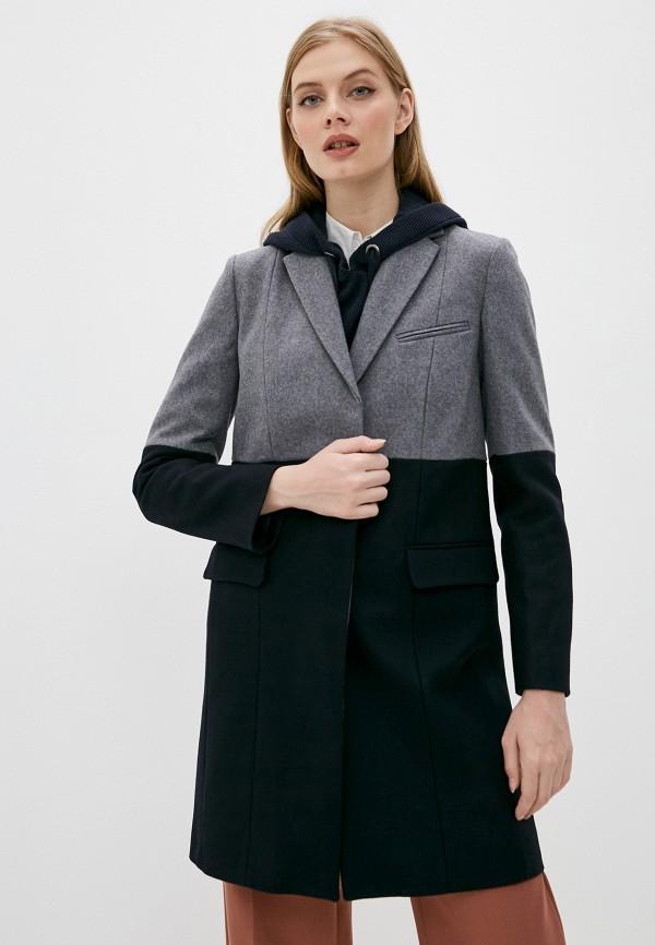 женское пальто french connection, черное