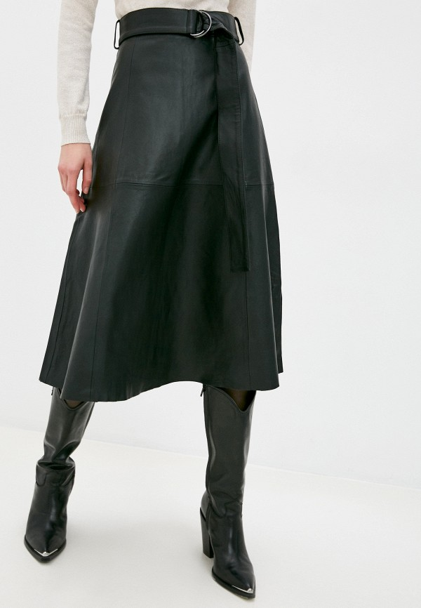 женская юбка french connection, черная