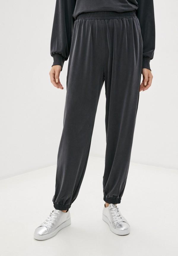 женские спортивные брюки french connection, серые