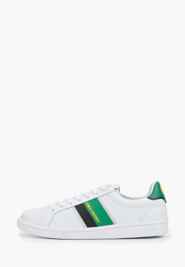 мужские кроссовки fred perry, белые