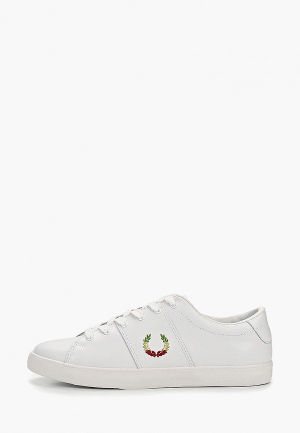 женские кеды fred perry, белые