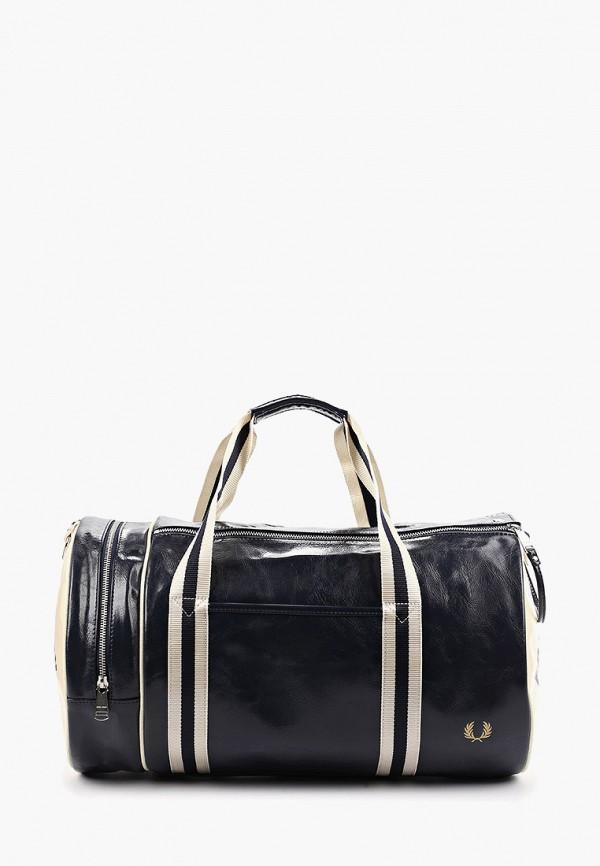 мужская сумка fred perry, синяя