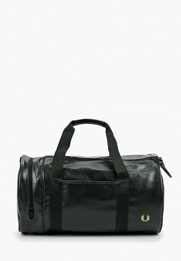 мужская сумка fred perry, зеленая