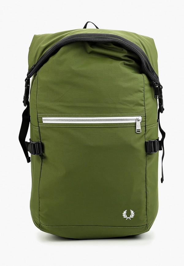 мужской рюкзак fred perry, зеленый