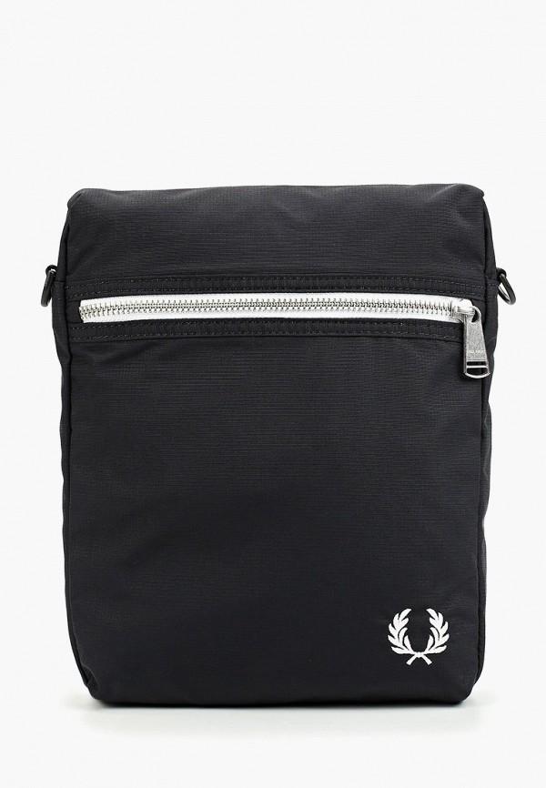 мужская сумка fred perry, черная
