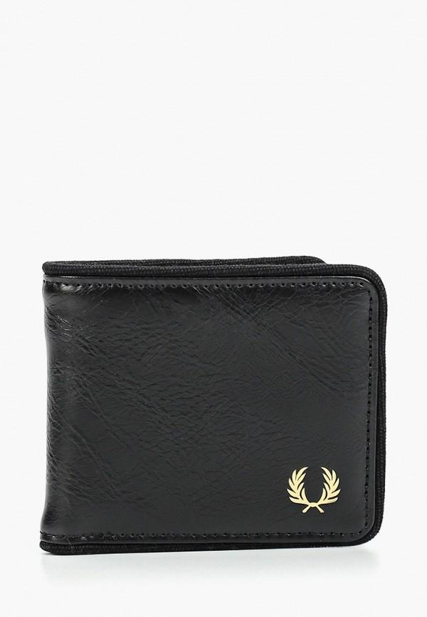 мужской кошелёк fred perry, черный