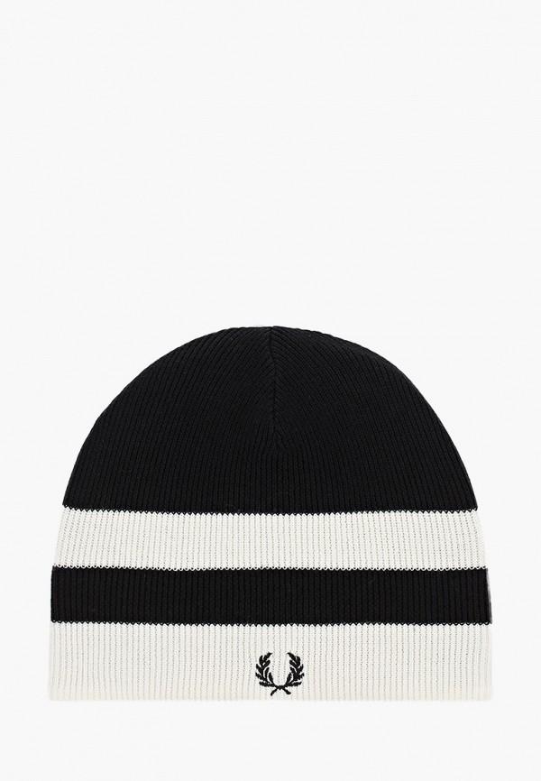мужская шапка fred perry, черная