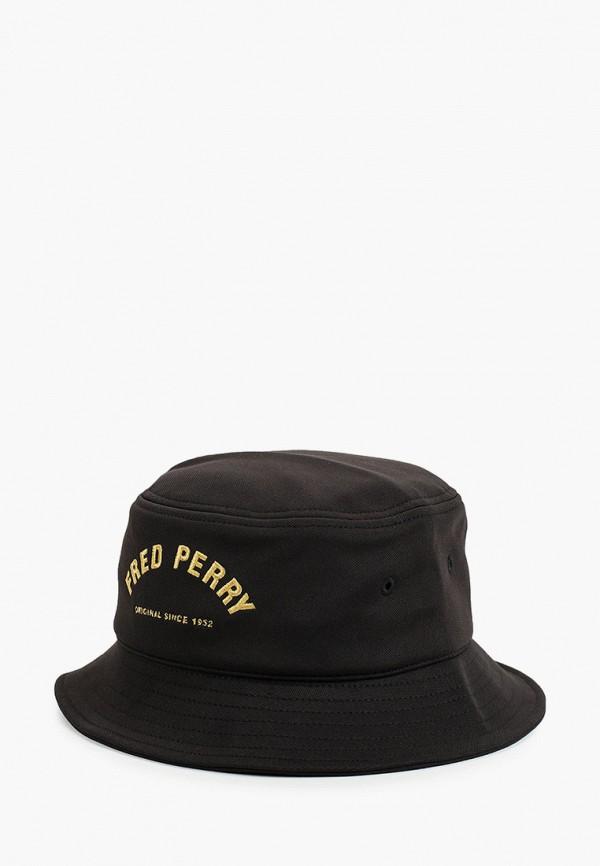 мужская панама fred perry, черная