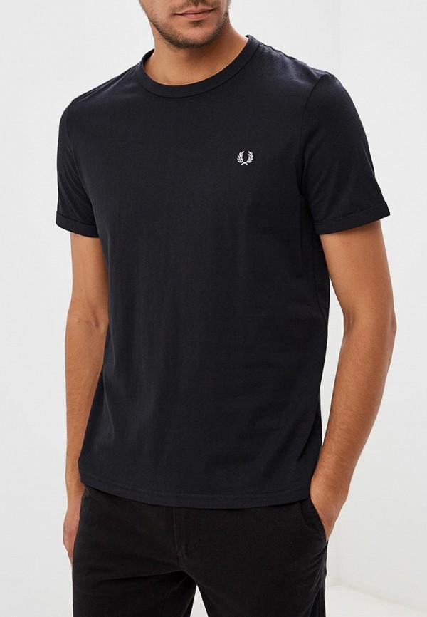 мужская футболка fred perry, черная