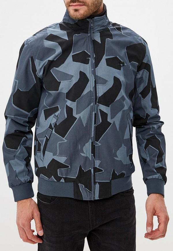 мужская куртка fred perry, серая