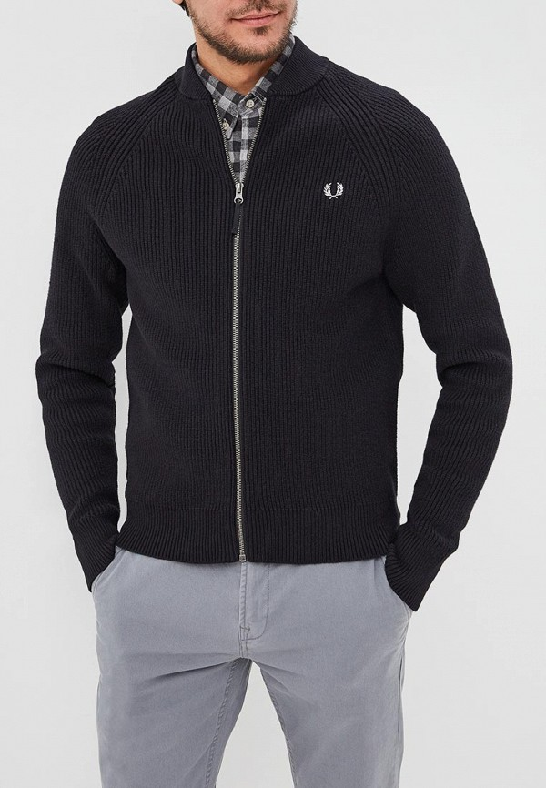 Кардиган Fred Perry Fred Perry FR006EMDRRO0 брюки fred perry t2503 608