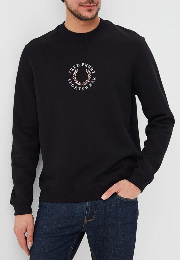 Свитшот Fred Perry Fred Perry FR006EMDRRO6 брюки fred perry t2503 608