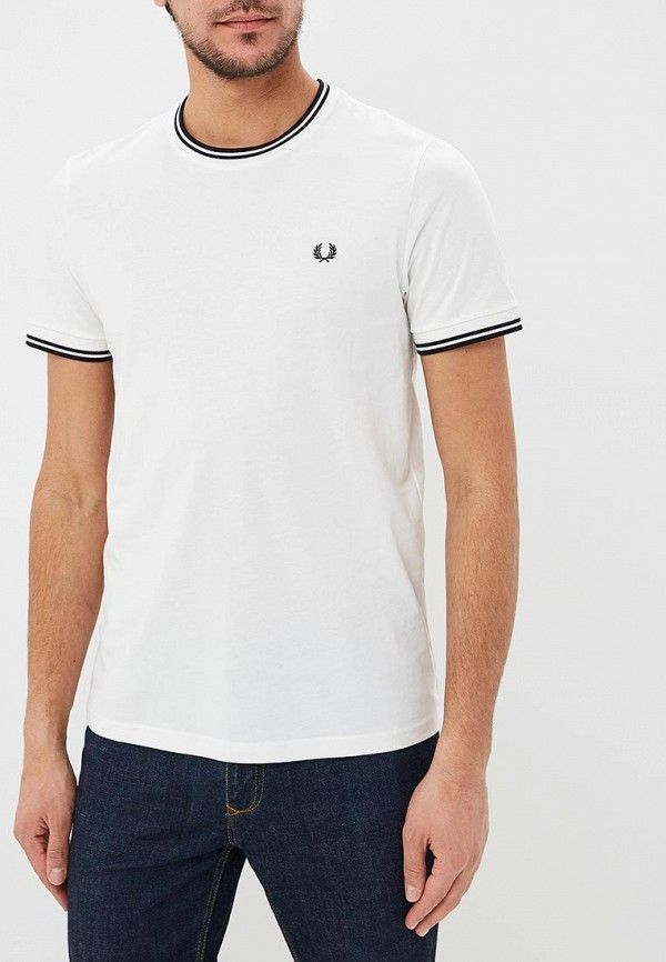 Футболка Fred Perry Fred Perry FR006EMDRRO8 рубашка мужская fred perry 65 incoool 15
