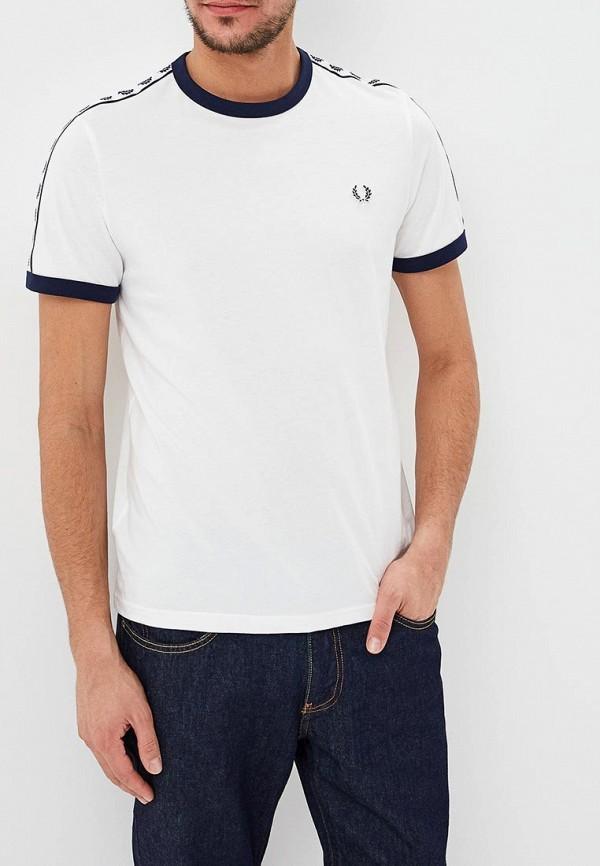 мужская футболка fred perry, белая