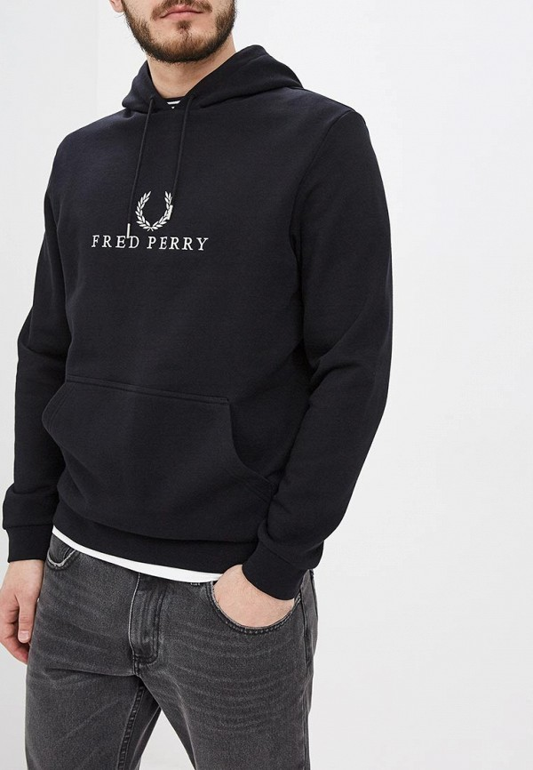 Худи Fred Perry Fred Perry FR006EMDRVF9 рубашка мужская fred perry 65 incoool 15