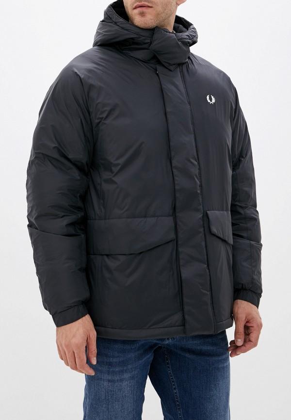 мужская куртка fred perry, черная