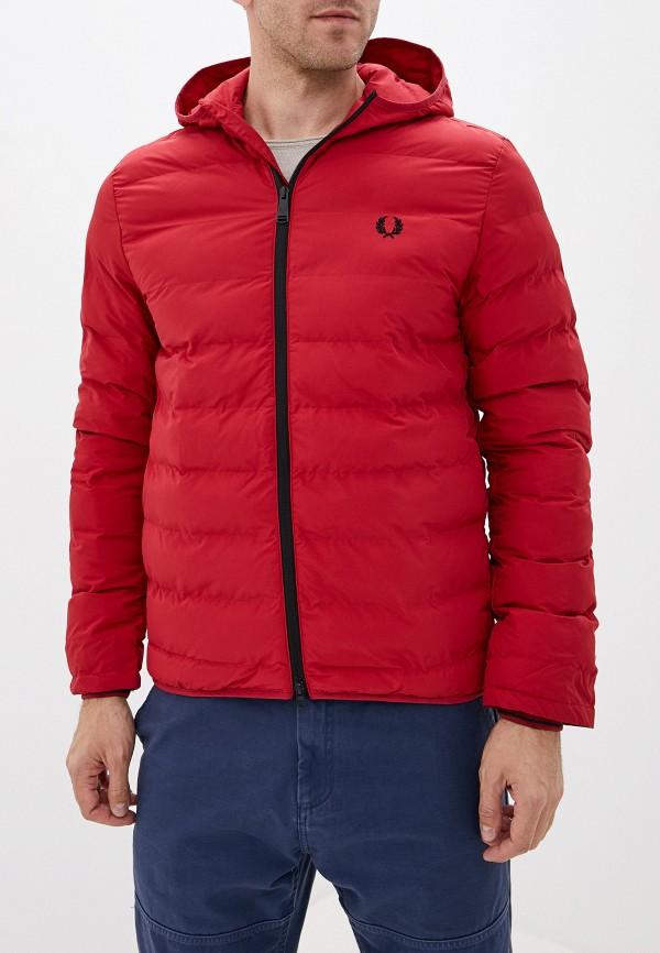 мужская куртка fred perry, красная