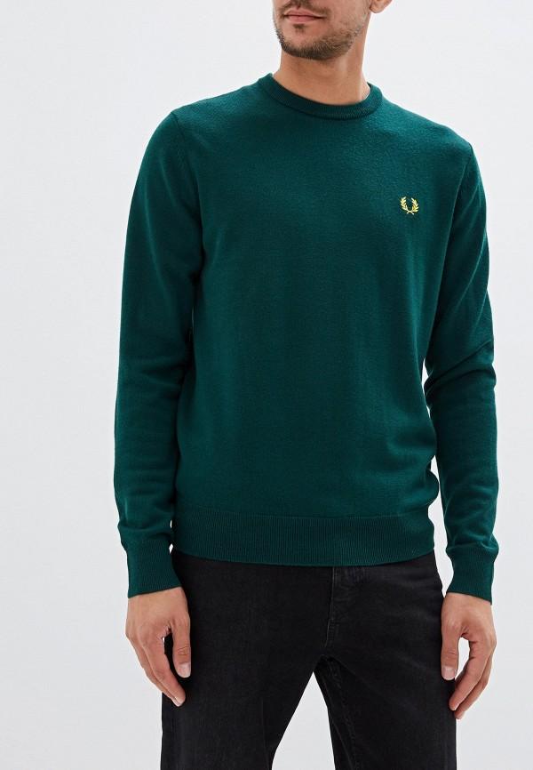 мужской джемпер fred perry, зеленый
