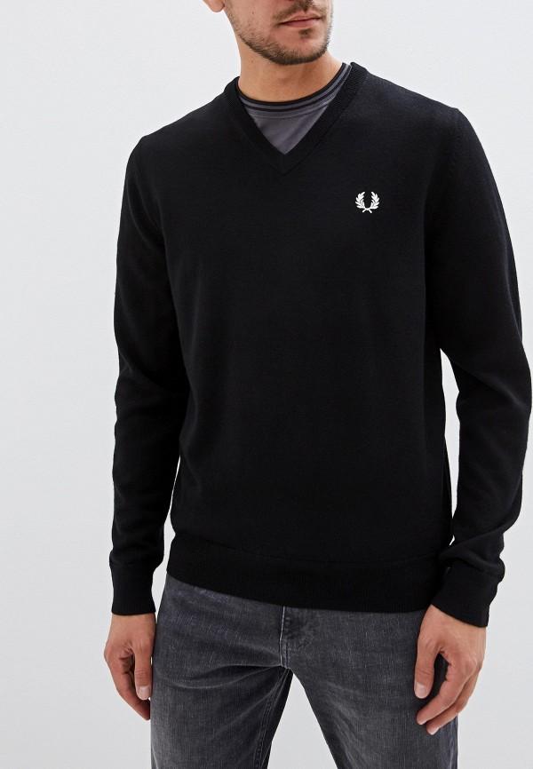 мужской пуловер fred perry, черный