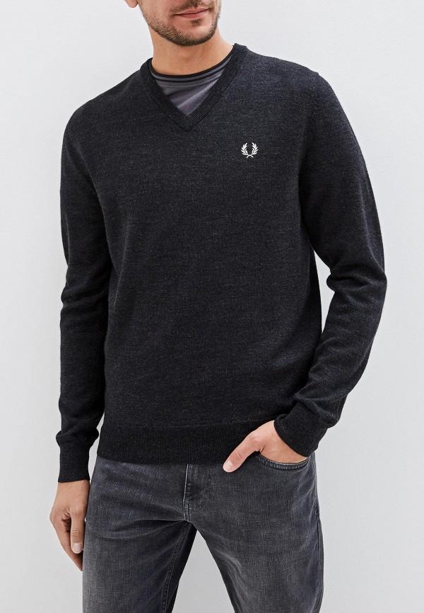 мужской пуловер fred perry, серый