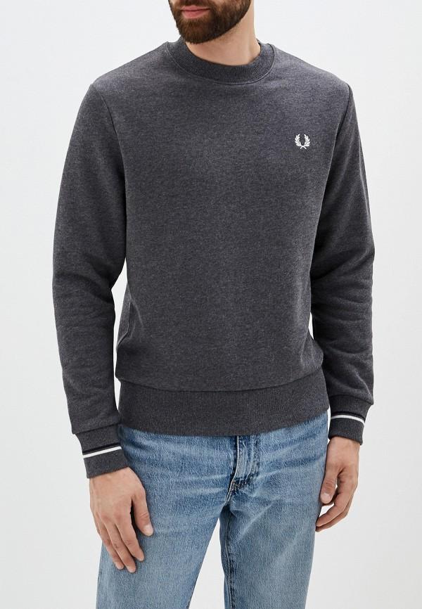 мужской свитшот fred perry, серый