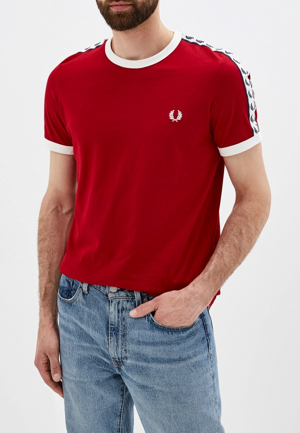Футболка Fred Perry Fred Perry FR006EMGLXX8 футболка fred perry fred perry fr006emdrvf8