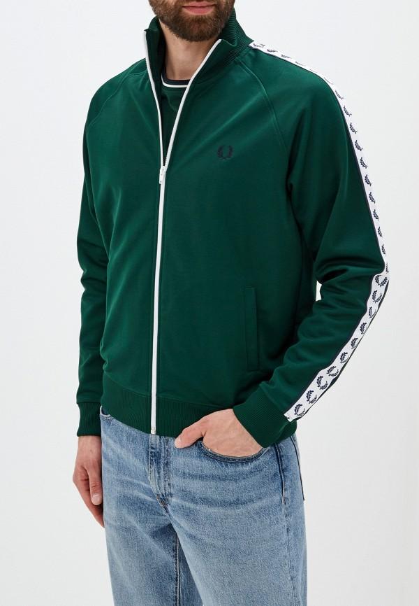мужская олимпийка fred perry, зеленая