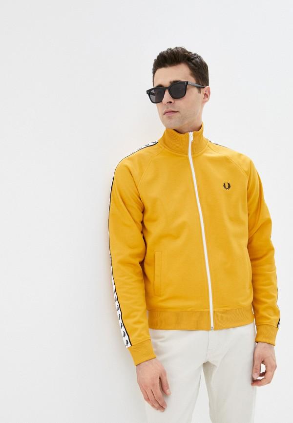 мужская олимпийка fred perry, желтая