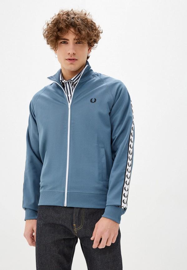 мужская олимпийка fred perry, синяя