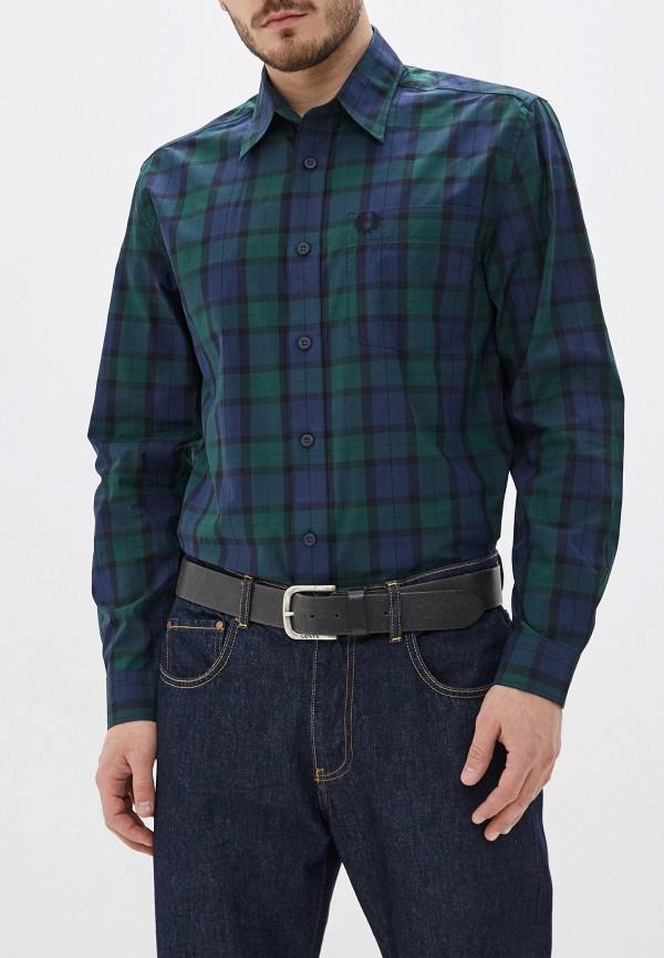 мужская рубашка с длинным рукавом fred perry, разноцветная