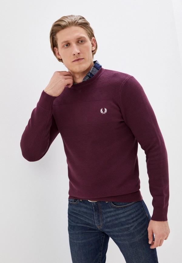мужской джемпер fred perry, фиолетовый