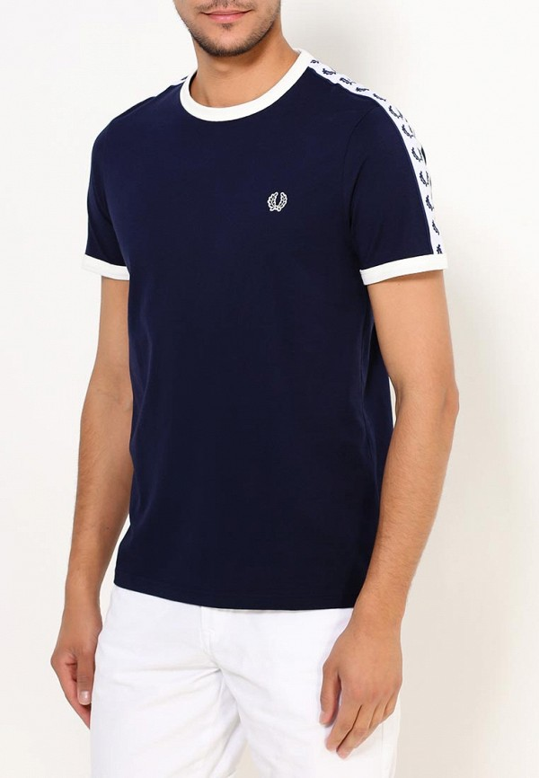 Купить Футболка Fred Perry, fr006emuia58, синий, Осень-зима 2018/2019
