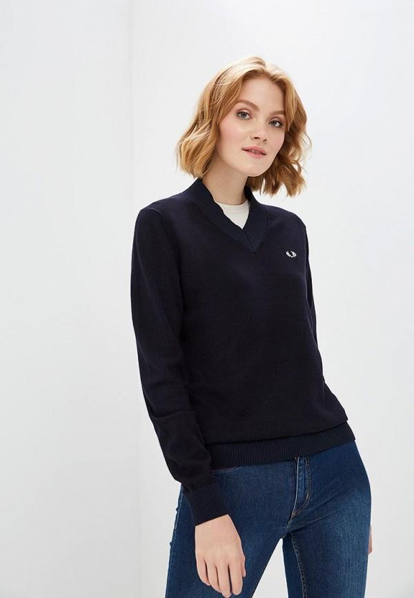 Купить Пуловер Fred Perry, FR006EWBUTC7, синий, Осень-зима 2018/2019