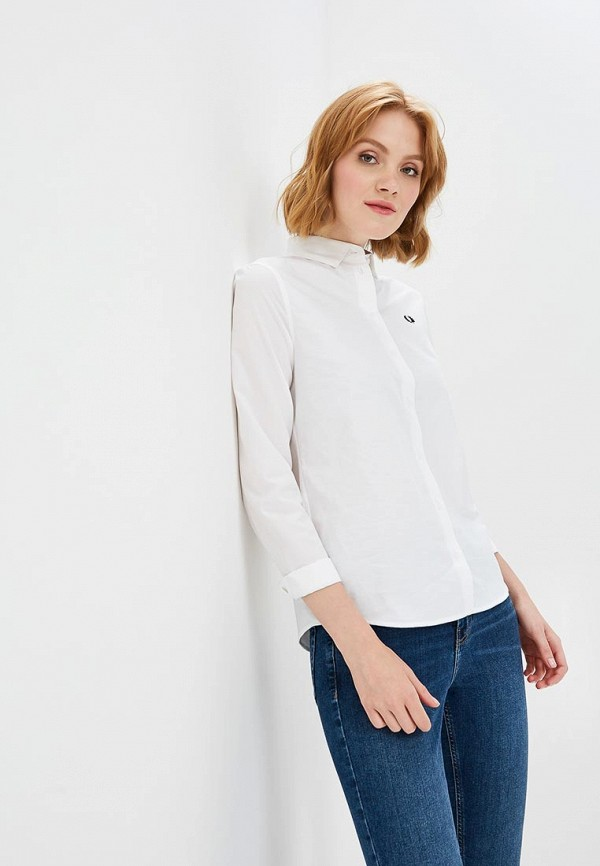 Купить Рубашка Fred Perry, FR006EWBUTD3, белый, Осень-зима 2018/2019