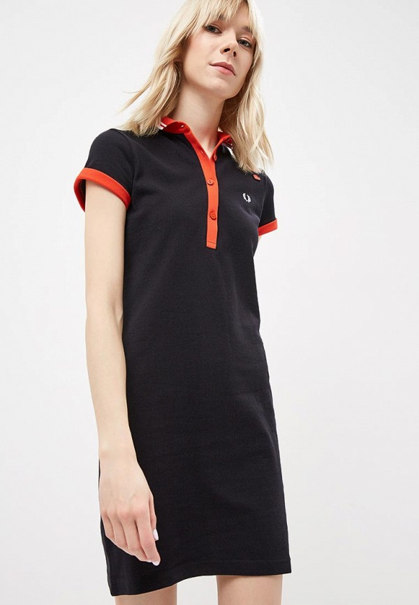 Платье Fred Perry Fred Perry FR006EWDRRN6 рубашка мужская fred perry 65 incoool 15