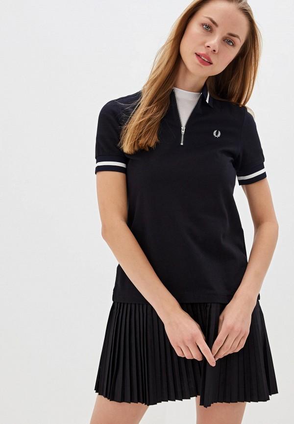 женское повседневные платье fred perry, черное