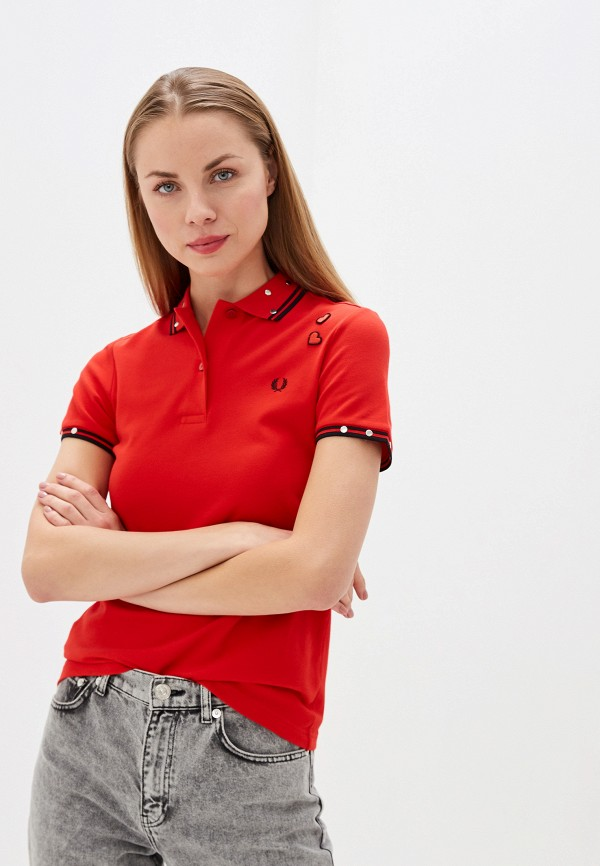 Поло Fred Perry Fred Perry FR006EWGMDK1 футболка поло fred perry m3600 977