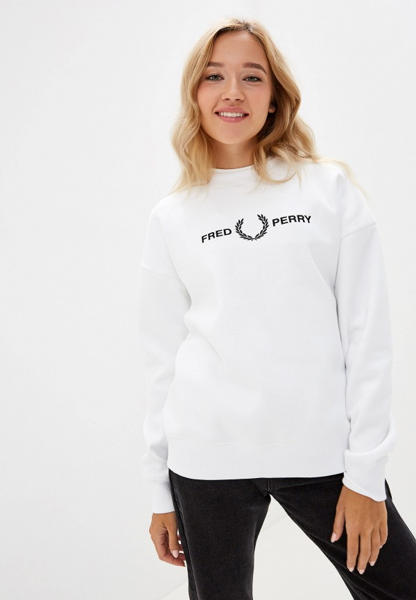 Свитшот Fred Perry Fred Perry FR006EWGMDL3 свитшот fred perry fred perry fr006ewgmdl2