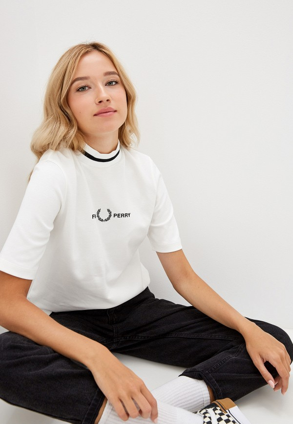 Футболка Fred Perry Fred Perry FR006EWGMDL5 рубашка мужская fred perry 65 incoool 15