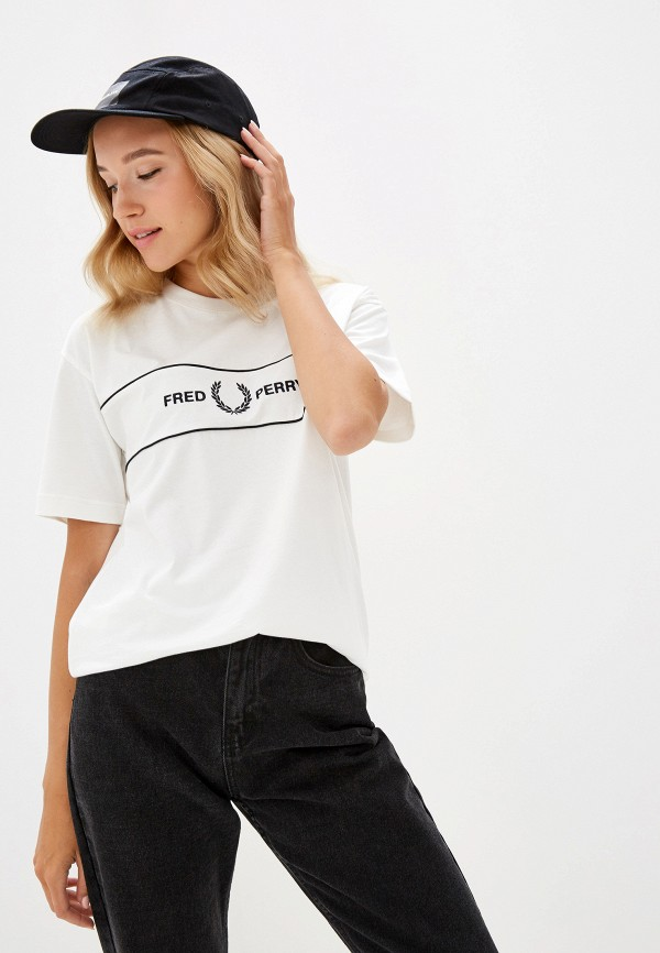 Футболка Fred Perry Fred Perry FR006EWGMDL6 рубашка мужская fred perry 65 incoool 15